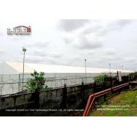 Outdoor Warehouse Tent Flame Retardant PVC Roof and Sidewalls or Sandwich Panel Sidewalls