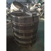 Load Container Stainless Steel Sterilization Bucket For Vertical Sterilization Autoclave for sale