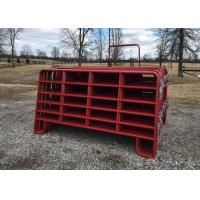 China Metal stain steel  livestock horse cattle yard fence panel  for farm filed for sale