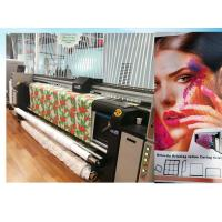 China 3.2m Size Polyester Printers Flag Textile Printer Digital Printing Machine Printers With High Speed for sale