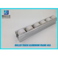 Heavy Duty Roller Track PE Wheel Materail 40A 4000mm Per Bar Standard Length for sale