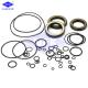 Excavator HITACHHI ZX200 ZX200-3 Hydraulic Cylinder Seal Kits NBR TPFE IRON Material for sale