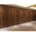 Customized Color Acoustic Room Dividers , Hotel Moveable Partition Wall for sale