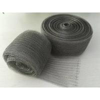 98% Efficiency Stainless Steel Knitted Wire Mesh Demister Pad Flat / Corrugated Surface for sale