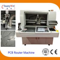 220V 4.2KW PCB Router Depanelizer With Double Working Tables 113*140*108cm for sale
