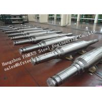 High Hardness and Durability Forged Alloyed Steel Work Roller for Cold Rolling Factory