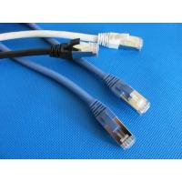 China ​Category 6A SFTP Booted Patch Cords RJ45 supplier