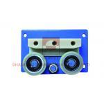 Φ 70mm Wheel Diameter Villa Eelvator Spare Parts Guide Shoe , Allowable Gross Mass ≤ 450kg for sale