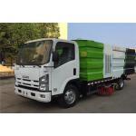 China ISUZU 4x2 Stainless Steel Road Sweeper Street Sweeper Street Cleaning Machine Sweeper Truck manufacturer