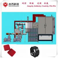 China ISO Standard 75KW Titanium Nitride Coating Machine ABS Colorful Auto Parts for sale