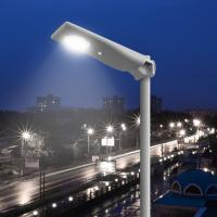 Remote Control Black or Silver Color Solar LED Garden Light 1800 lumen with PIR Sensor Available for sale