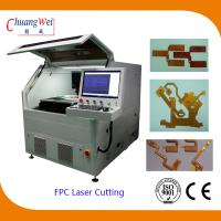 Industrial PCB UV / CO2 Laser Depaneling Machine 10/12/15/18W for sale