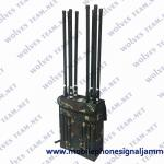 China High Power 80W EOD Backpack 4G 5G Cell Phone Signal Jammer Manpack RF Jammer for sale