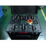China Anti-Drone Uav Jammer Pelican case WIFI GPS signal Jammer  Cover 100% Drones Uav for sale