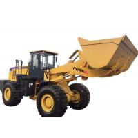 China Yellow Articulated Wheel Loader Heavy Construction Machinery 6000kg Rated Load for sale
