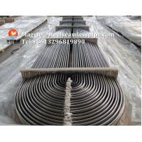 China Stainless Steel U Bend Tube ASTM A268 TP405/ ASTM A213 TP304 / TP304L / TP316L / TP316Ti / TP316H / ASTM B677 904L for sale