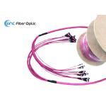 MTP MPO Trunk Fiber Optic Cable Assemblies High Density 96F 144F 50M 100M 200M for sale