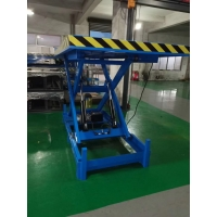 China 3KW Pit Mounted Truck Loading Dock Scissor Lift 2000×2000mm for sale