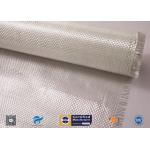China White Fiberglass Fabric , E - Glass Plain Weaven Woven Roving Fiberglass Roll for sale