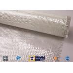 China White Fiberglass Fabric , E - Glass Plain Weaven Woven Roving Fiberglass Roll manufacturer