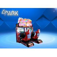 2019 New arcade race car connection battle game machine simulator commercial arcade games for sale