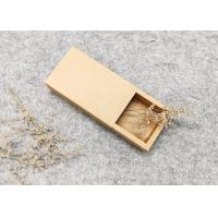 Brown Kraft Box Packing,Folding Drawer Paper Box,Eco-Friendly/Printing for sale