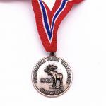60mm Size Custom Logo Medals , Zinc Alloy Plating Antique Gold Medal for sale