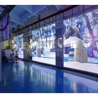 Transparent Led Display Media Player 50 mm x 100 mm High Transparency on Glass Wall for sale