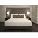 Environmental New Design Hotel Bed Furniture , Customized Hotel Bedroom Furniture Set for sale