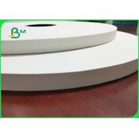 China 28GSM Food Grade Paper Wrapped Rolls Width 22mm to 44mm White Color for sale