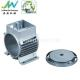 China Die Cast Aluminum Motor Housing OEM / ODM, AL Alloy ADC12 Custom Electric Motor Casing for sale