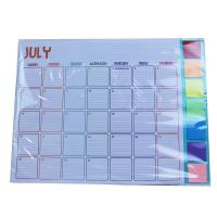 Monthly Year 2021 80gsm Children Calendar for sale
