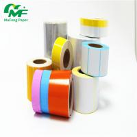 China Custom Printing Logo Adhesive Sticker Roll 4*6 Direct Thermal Label Heat Sensitive for sale