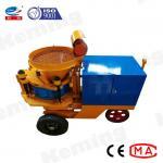7.5kw 7m3/H spray Mining Dry Mix Shotcrete Machine for sale