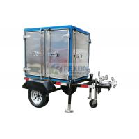 Trailer Mounted Mobile Transformer Oil Purifier Unit 60KM/H Speed Easy Move ZYD-M for sale