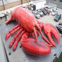 10ft  Customized Giant Inflatable Lobster For Party / Event / Theater for sale