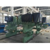Shot Blasting Painting Tank Turning Rolls 200T Steel Tube In Wind Tower Productions Line for sale
