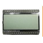 China Operting 4.5V Monochrome LCD Screen Reflective Positive 55.00mm * 15.50mm Viewing for sale