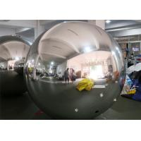 PVC Silver Color Inflatable mirror ball With D Rings