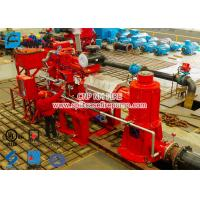 China 2 stage Multistage Vertical Turbine Fire Pump Sets With Firefighting Diesel Engine Driven With 500 Usgpm for sale