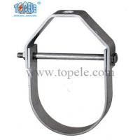 China Heavy Duty Galvanized Steel Pipe Clamps Clevis Hanger With UL Standard for sale