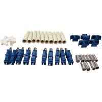 LC Duplex Fiber Optic Connectors One-piece or Unassembled SM MM for 3.0mm Cable