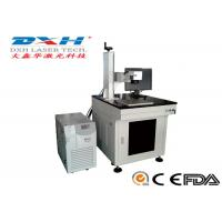 China Small Industrial Laser Marking Systems , Transparent Glass Carving Machine for sale