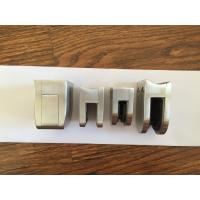 Satin Finished Frosted Stainless Steel Glass Clips Customized Size Rust Protection for sale