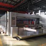 LeadEdgeFeedingCarton Printing Slotting Machine / Flexo Printing Machine for sale