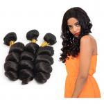 100% Brazilian Virgin Hair Loose Wave Virgin Remy 100% Human Hair Extensions for sale