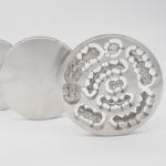 Beta Phase Titanium Gr5 Round Pan , Strong Titanium Metal Block for sale