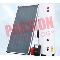 China Natural Circulation Split Solar Water Heater Flat Plate Copper Connection for sale