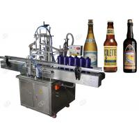 China High Speed Automatic Beer Bottling Machine , Glass Bottle Filling Machine for sale