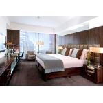 Custom 3 Star Hotel Project Furniture Solid Wooden + Plywood + MDF Covered for sale
